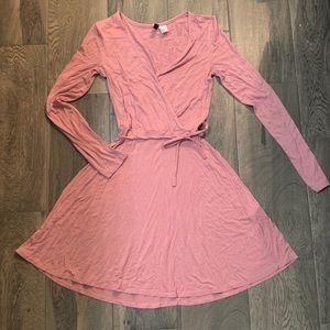 💗 5 for $25 HM Pink flare dress